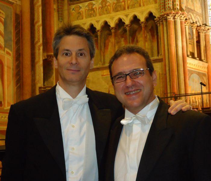Mario Gullo con Steven Mercurio